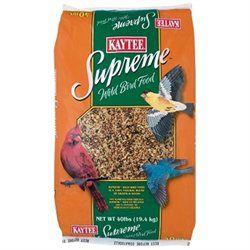Kaytee Products Kaytee Pet Products BKT51019 Supreme Wild Bird Food
