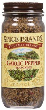 Spice Island Garlic Pepper, 2.7 oz
