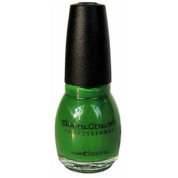 Sinful Colors Professional Nail Polish Enamel 1105 Exotic Green by Mirage Cosmetics