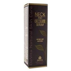 Daiwa Health Development Devita Natural Skin Care Neck and Decollete Serum - 1 fl oz