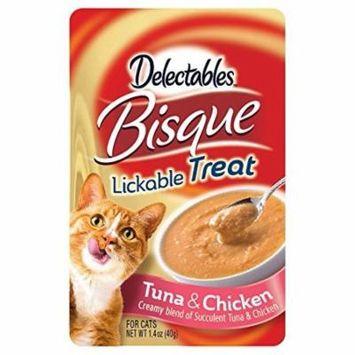 Delectables Lickable Cat Treats - Bisque Tuna & Chicken, 1.4 Oz.