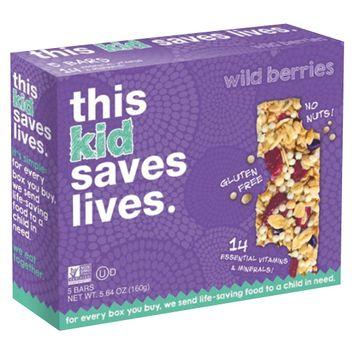 This Bar Saves Lives Mixed Berry Granola Bars 5 oz