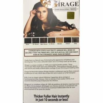 Mirage Hair Building Fibers Combo Kit, Grey