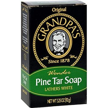 Pine Tar Soap - 3.25 oz Bar (3 Pack)