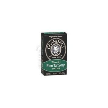 Grandpa's Pine Tar Soap Medium Size 4 pk by Grandpa's Brands Company