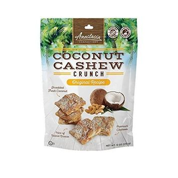 Anastasia Confections Coconut Cashew Crunch Original Recipe
