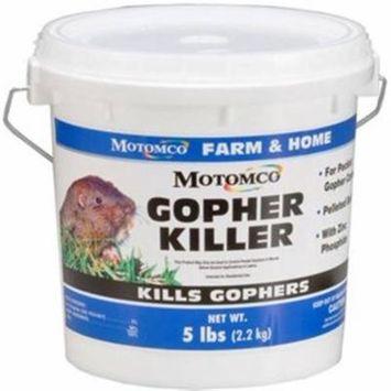 32541 5# Pail Gopher Killer, Tomcat (Motomco), EACH, EA, Specially formulated ba