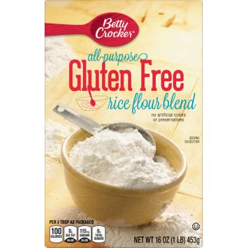 Gold Medal Gluten Free Rice Flour Blend, 16 oz