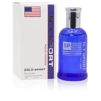 Famous Brand Perfume for Men of Various Version 3.4 fl.oz. Eau de Parfum Spray, Perfect Gift (NY SPORT is impression of POLO SPORTS... [NY SPORT is impression of POLO SPORTS Ralph Lauren, 3.4 fl.oz.]