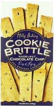Moon Dance Baking Cookie Brittle, Hazelnut Chocolate Chip, 6 Ounce
