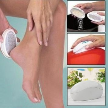 Hindom Ped Egg Pedicure Foot File, smooth feet and Dry Horniness Hard Skin Remover