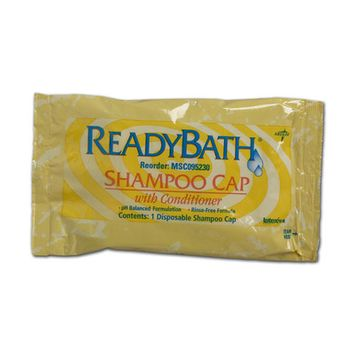 Medline Ready Bath Scented Shampoo Cap Quantity: Case of 30