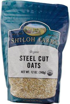 Shiloh Farms Organic Steel Cut Oats 12 oz