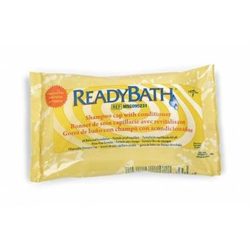 Medline Skin Care ReadyBath Shampoo Cap - Cap, Shampoo, Readybath