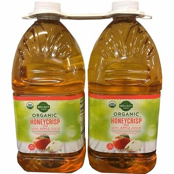 Wellsley Farms Expect More Organic Honeycrisp Apple Juice, 2 pk./96 oz. [2]