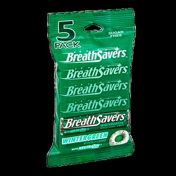 Breath Savers Wintergreen Sugar Free Mints - 5 PK