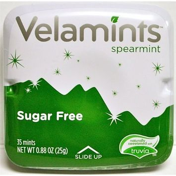 Velamints Spearmint (ONE TIN - 35 Mints), Sugar Free