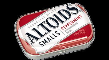 Altoids Sugar Free Smalls Peppermint Mints