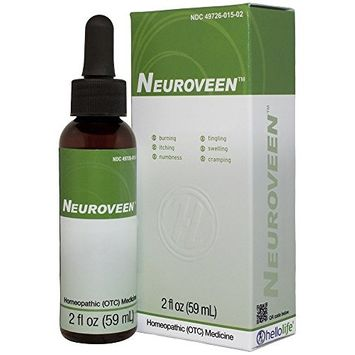 HelloLife Neuroveen - Natural Relief of Neuralgia Nerve Pain Symptoms such as Tingling, Numbness and Burning