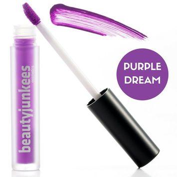 Matte Liquid Lipstick Lip Stain – Long Lasting Kiss Proof Lip Stay Makeup, Super Purple Pigmented Lip Stick Tint Paraben Free, Gluten Free, Cruelty Free, Made in the USA, Labiales Matte Larga Duracion