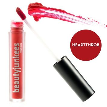 Matte Liquid Lipstick Lip Stain – Long Lasting Kiss Proof Lip Stay Makeup, Super Red Pigmented Lip Stick Tint, Paraben Free, Gluten Free, Cruelty Free, Made in the USA, Labiales Matte Larga Duracion