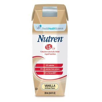 Nutren 1.5 Complete Liquid Nutrition ''375 cal, 8 oz, Unflavored, 24 Count''