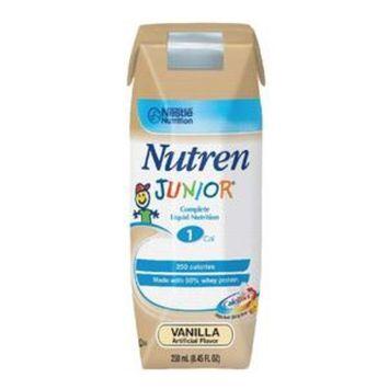 Nutren Junior Complete Vanilla Flavor 250 mL Can Case of 24