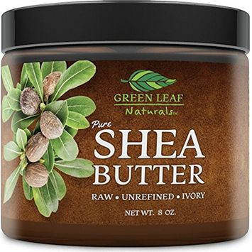 African Shea Butter - Raw Unrefined Organic - 100% Pure for Hair and Skin - Smooth and Creamy for DIY Recipes