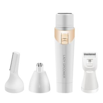 Facial Hair Removal for Women, ACELIST Electric Shavers Hair Trimmer Kits, Women` s Body Hair Removal Epilators, Nose Hair Shavers, Bikini Trimmers, Eyebrow Razors 4 in 1
