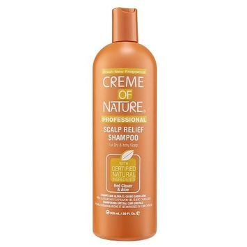 Crème of Nature Creme of Nature Soothing Shampoo for Dry Hair and Flaky Scalp, Red Clover and Aloe, 20 Ounce