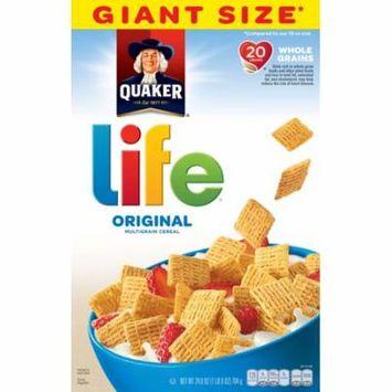 Quaker Life Multigrain Cereal, Original, Giant Size, 24.8 oz Box