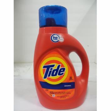 Tide Liquid Laundry Detergent High Efficiency Original Scent, 50 oz 6 pack