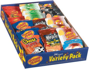 Golden Flake  Variety Pack 24 Ct Tray