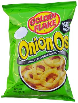 Golden Flake® Onion Os® Onion Flavored Rings