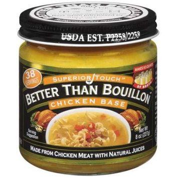 Better Than Bouillon CHICKEN BASE, (Pack of 8)