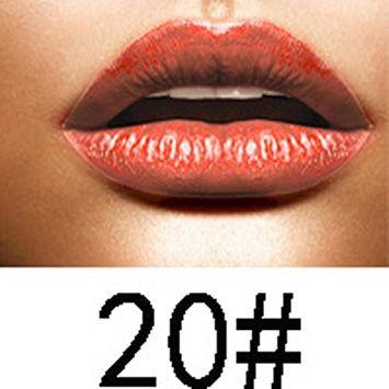 Binmer(TM) Long Lasting Lipstick Waterproof Matte Metal Lip Gloss Liquid Lip Liner Cosmetics