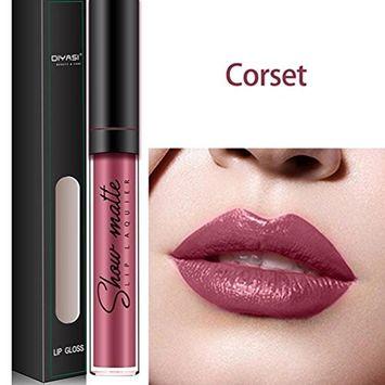Binmer(TM) Liquid Lipstick Lipgloss Moisturizing Long Lasting Diamond Waterproof Lip Gloss
