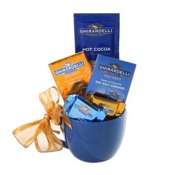 Alder Creek Gift Baskets Ghirardelli Mug