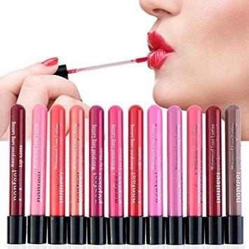 Binmer(TM) Waterproof Lip Gloss Matte Velvet Long Lasting Lipstick Pencil Cosmetic