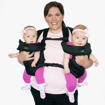 Twin Trexx Stuff 4 Multiples TwinTrexx 2 Twin Baby Carrier
