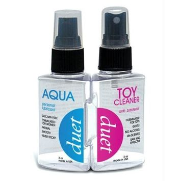 Consumer concepts inc Duet aqua glyercin free lubricant & toy cleaner
