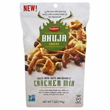 Bhuja Snacks Cracker Mix 7 oz. Case of 6