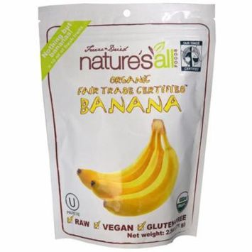 Natierra Nature's All , Organic Banana, 2.5 oz(pack of 2)