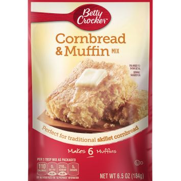 Betty Crocker Cornbread and Muffin Mix, 6.5 oz