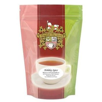 Holiday Spiced Flavored Black Tea - Teabags - 25 Teabag Pouch