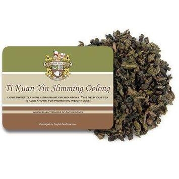 Organic Ti Kuan Yin Slimming Oolong Tea - Loose Leaf - 16oz