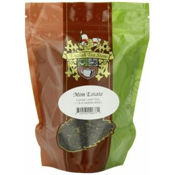 English Tea Store Loose Leaf, Mim Estate Tea Pouches, 4 Ounce