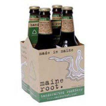 MAINRT Soda, Root Beer, 4/12 oz (pack of 6 ) ( Value Bulk Multi-pack)