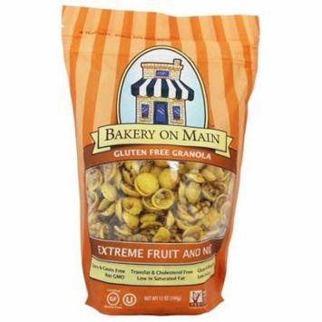 Bakery On Main - Granola Gluten Free Extreme Fruit & Nut Family Size - 22 oz(pack of 12)