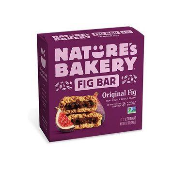 Nature's Bakery Fig Bars Original Fig,  (Pack of 6)